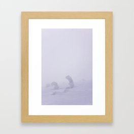 Snow 1.9 Framed Art Print