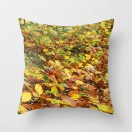 Chlorophyll Breaking Throw Pillow