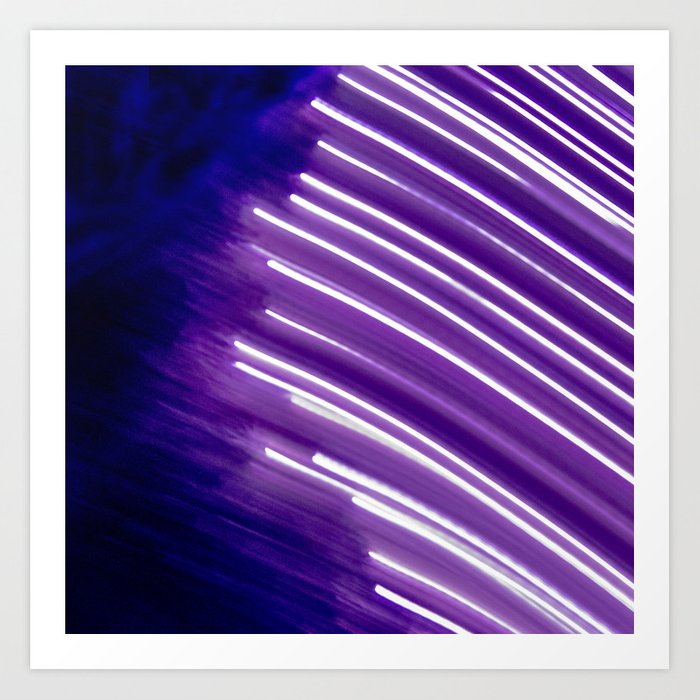 Layers of light Art Print