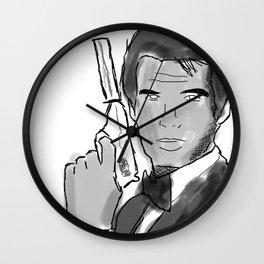 JB Brosnan Wall Clock