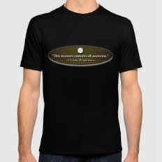 This Moment Black MEDIUM Mens Fitted Tee