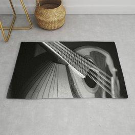 Mandolin Portrait 3 Rug