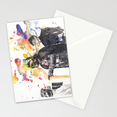 Darth Vader Pointing Leia Star Wars Movie Scene Stationery Cards
