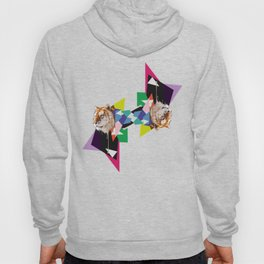 Tiger in abstraction Hoody