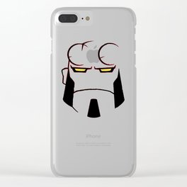 hell boy Clear iPhone Case