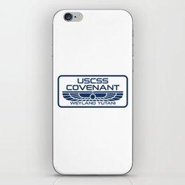 USCSS Covenant - Weyland Yutani - with border iPhone Skin