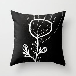 Simple Lines 1 Throw Pillow