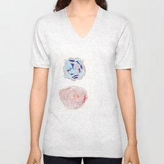 ABSTRACT 3 Unisex V-Neck