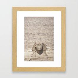 Great Pyramid Framed Art Print
