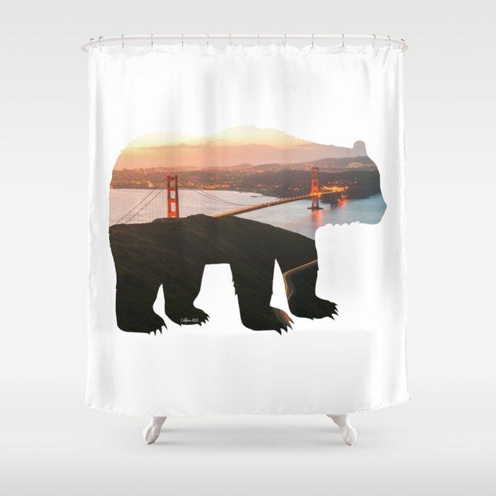 California Bear X Golden Gate Bridge