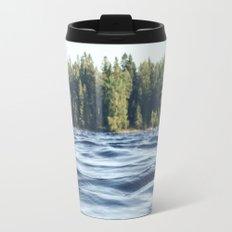 Summer Forest Lake Travel Mug