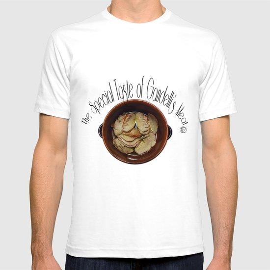 The special taste of Gandelli's meat T-shirt