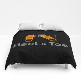 Heel & Toe Comforters