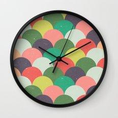 Kids Pattern Wall Clock
