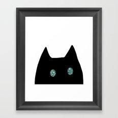 cat-211 Framed Art Print