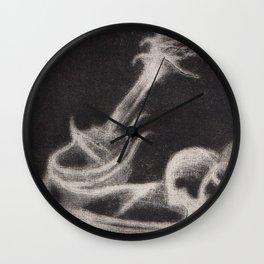 Guitar Ghost Wall Clock