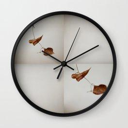 Leaf Dance 002 Wall Clock