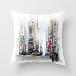 New York2 Throw Pillow
