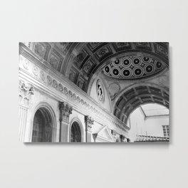 Florentine Corridor Metal Print