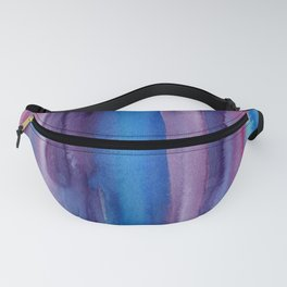 Brushed Watercolor Fanny Pack