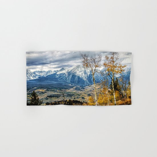Colorado Autumn Hand & Bath Towel