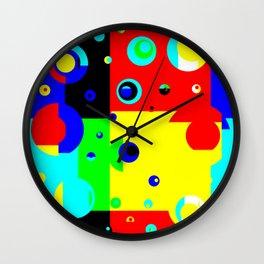 Colorplosion Wall Clock