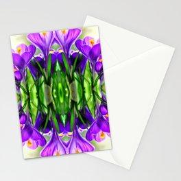 Crocus dance Stationery Cards