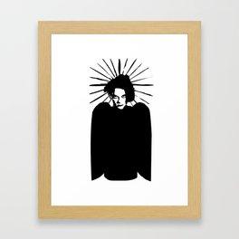 Robert Smith icon saint art Framed Art Print