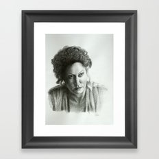 Ros Framed Art Print