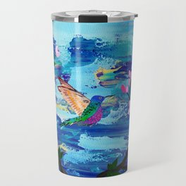 Hummingbird Spirit Travel Mug