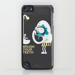 Brush your teeth iPhone Case