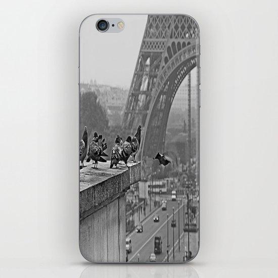 pigeons parisien iPhone & iPod Skin