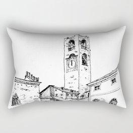 Old Square, Bergamo Rectangular Pillow