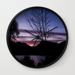 Perfect End Wall Clock