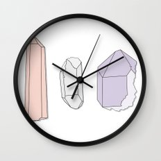 Crystals Trio Wall Clock