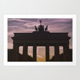 Berlin my Love Art Print