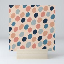Abstract seamless pattern #4 Mini Art Print