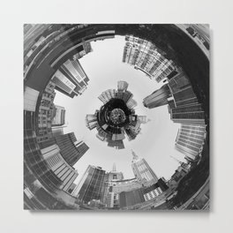 Technologic Metal Print