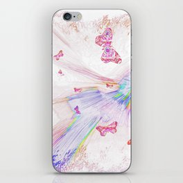 """Flash Dream ~ Butterflies"" iPhone Skin"