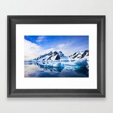 Polar Nature Framed Art Print