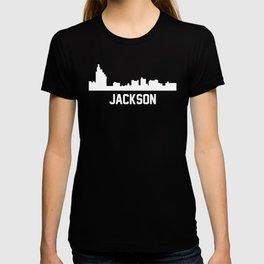 Jackson Mississippi Skyline Cityscape T-shirt