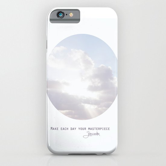 Make Each Day Your Masterpiece I iPhone & iPod Case