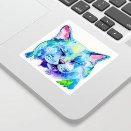 Fat Cat Sticker