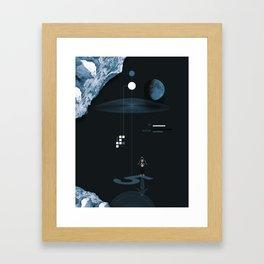 The Night Landing Framed Art Print