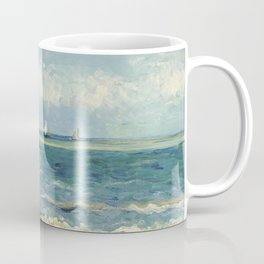 Seascape near Les Saintes Maries de la Mer by Vincent van Gogh Coffee Mug