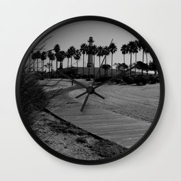 calm trails Wall Clock