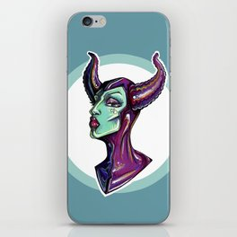 Dark Diva – Maleficent iPhone Skin