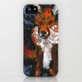 Cosmic Fox iPhone Case