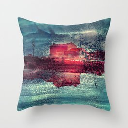 Sweet home Throw Pillow