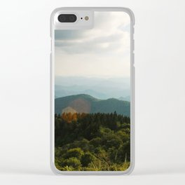 Blue Ridge Beauty Clear iPhone Case